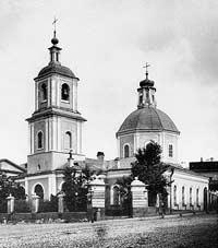 Храм Введения на Б. Лубянке. Н.А. Найденов (1882-1883)