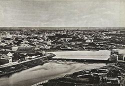 Бабьегородская плотина. 1867 г.