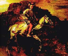 Известность гусару Лисовскому принесло его участие во внутреннем мятеже (рокоше) в пределах Польско-Литовского государства, случившемся в 1607 г. Шляхтичи-рокошане во главе с Зебжидовским выступили против реформаторской политики Сигизмунда III, нацеленной на централизацию власти и управления. За участие в рокоше ротмистр Лисовский был объявлен вне закона (заочно осужден на вечное изгнание и казнь в случае возвращения в отечество).