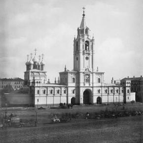 Страстной женский монастырь.1880