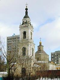 Церковь Девяти мучеников Кизических в Девятинском пер.