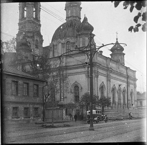 Церковь Никиты Великомученика в Старых Толмачах. Снесена в 1936