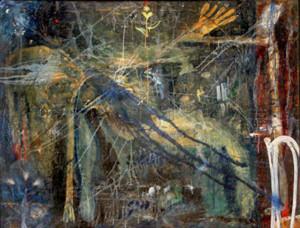 Д.П. Федорин. Реквием, холст, масло, 2004 г.