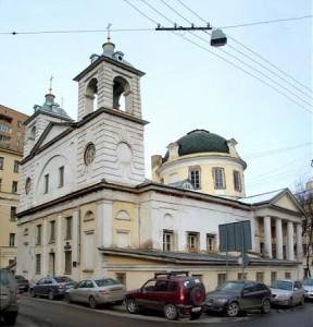 Храм Упения на Могильцах в Б.Власьевском. Хамовники.