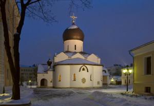 Покровский храм Марфо-Марьинской обителию Б.Ордынка
