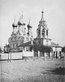 Церковь Св. Николая в Пыжах, фото Найденова. 1882 г.