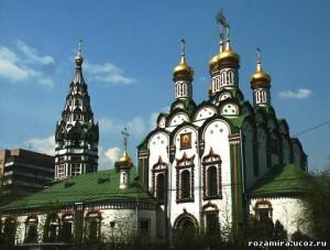 барской Москвы. Церковь св. Николая Чудотворца в Хамовниках.