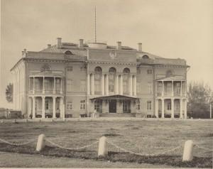 Москва барская. Нескучный сад. Александрийский дворец