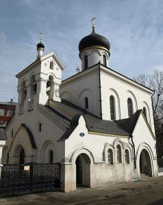 Остоженка. Старообрядческий храм. 1905.