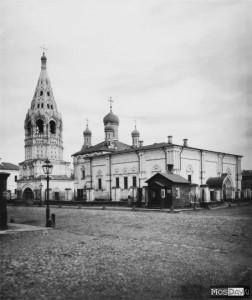 Церковь Троицы Живоначальной в Троицком  (Померанцев) пер. Остоженка-Пречистенка.