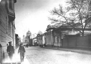 Дом Лопатиных в Гагаринском пер.