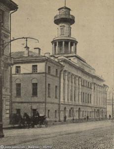 Пречистенка. Пожарное депо. 1912 г. Д. 22.